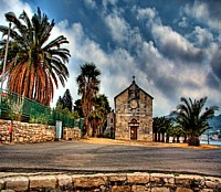 Church in the town of Vis