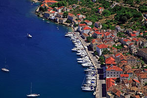 The town of Vis