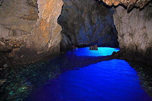 Blue Cave on the island of Bisevo
